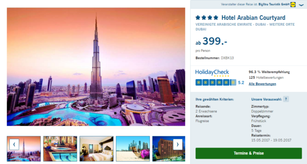 5 Tage Dubai