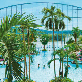Therme Sinsheim Pool Panorama