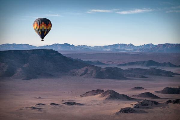 Schönsten Orte für eine Heißluftballonfahrt