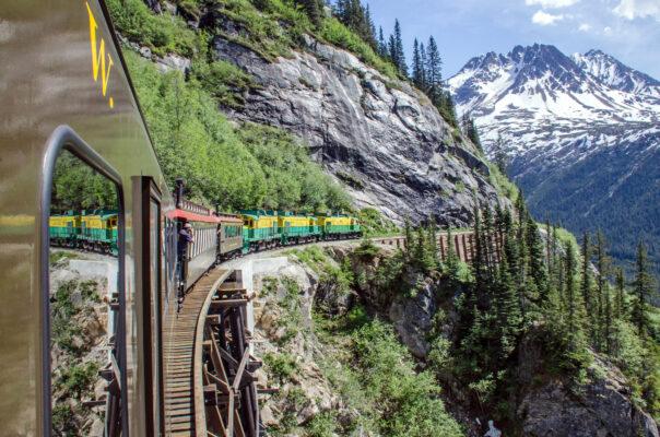 Alaska Eisenbahn Zug