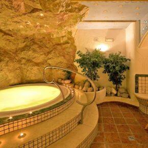 Anewandter Hotel Südtirol Wanne