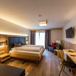 Anewandter Hotel Südtirol Zimmer