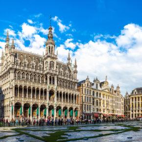 Städtetrip: 2 Tage Brüssel im TOP 4* Hotel mit Frühstück für 43€