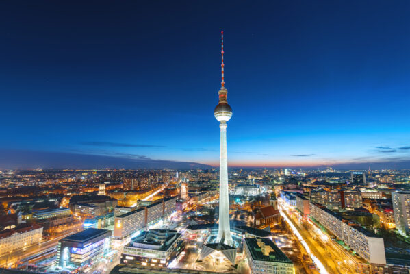 Berlin Aussicht Fernsehturm