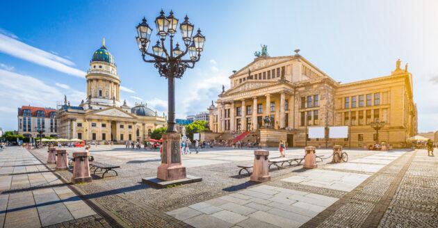 Berlin Kathedrale Sonnenuntergang