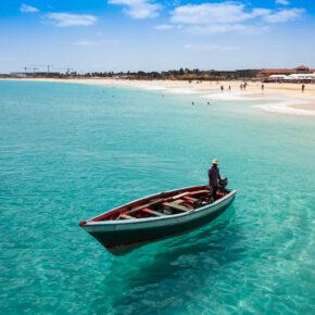Kap Verde: 11 Tage auf die traumhafte Insel Sal inkl. Flug & Gepäck nur 225€