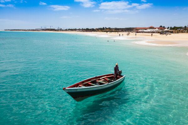 Cap Verde Meer Boot
