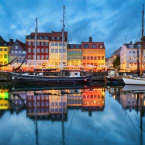 Tagestrip nach Kopenhagen: Hin- und Rückflüge für 35€