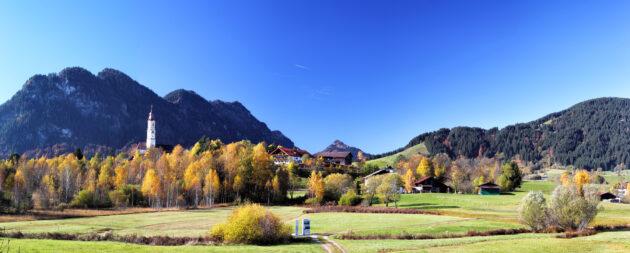 Deutschland Allgäu Berge Landschaft