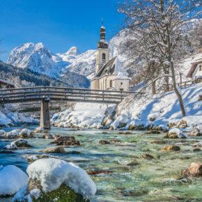 Deutschland Bayern Alpen Berchtesgarden