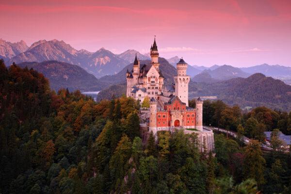 Deutschland Bayern Bayerischer Wald Schloss Neuschwanstein