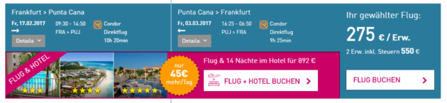 Dom Rep Flüge Angebot