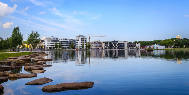 Dortmund See Skyline