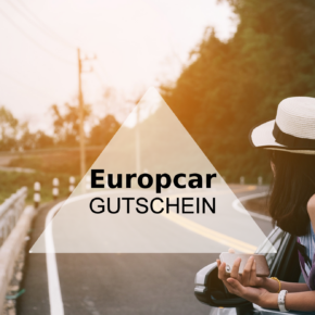 Jubiläums Gutschein bei Europcar -  spart 20 % auf alle PKWs
