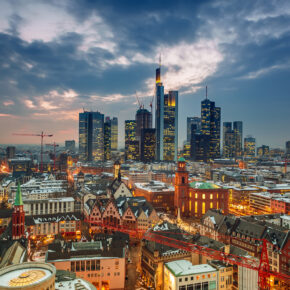 Error Fare: 2 Tage Städtetrip nach Frankfurt im 4* Hotel mit Frühstück nur 3€