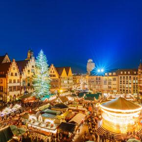 Weihnachtsmarkt in Frankfurt erleben: 2 Tage im 4* Hotel mit Frühstück nur 31€