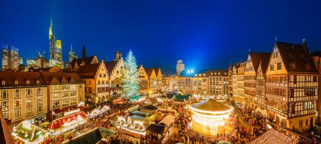 Frankfurt Weihnachtsmarkt Innenstadt