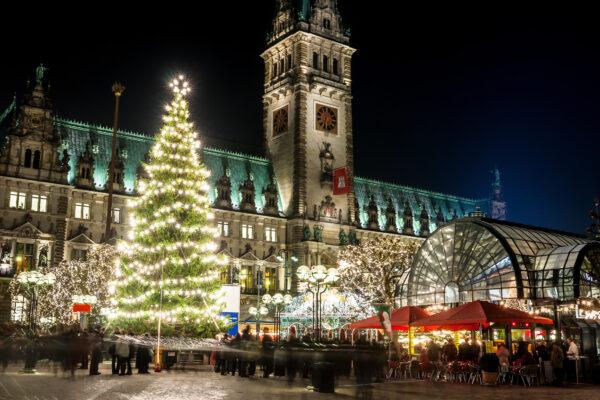Hamburg Stadthalle Marktplatz Weihnachtsmarkt