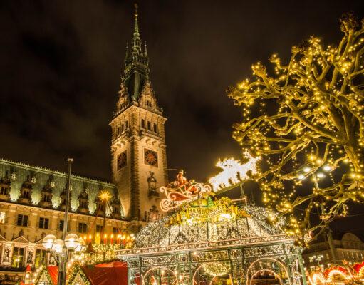 Hamburg Weihnachtsmarkt Marktplatz