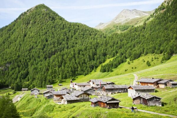 Hotel Kaserhof Südtirol Landschaft