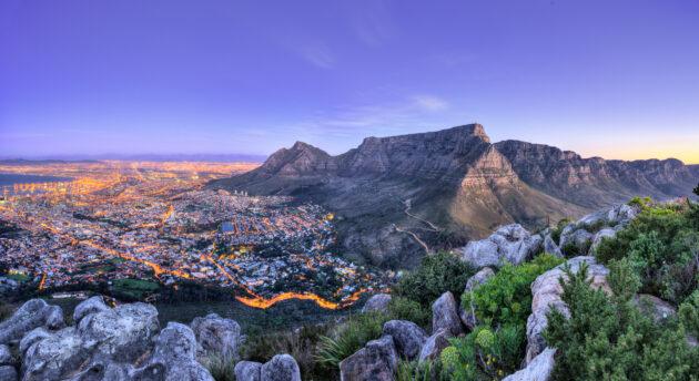 Kapstadt Aussicht oben