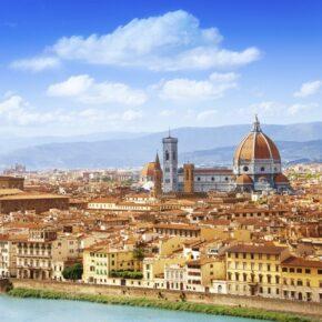 Spritzige Maßnahmen gegen Touristen in Florenz