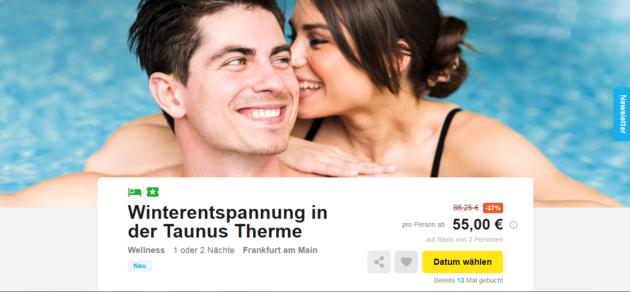 Frankfurt Tanus Therme
