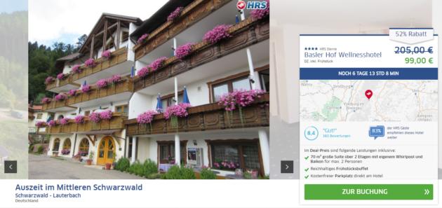 Wellness im Schwarzwald