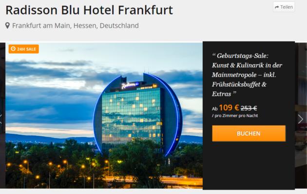 Frankfurt Radisson Blu