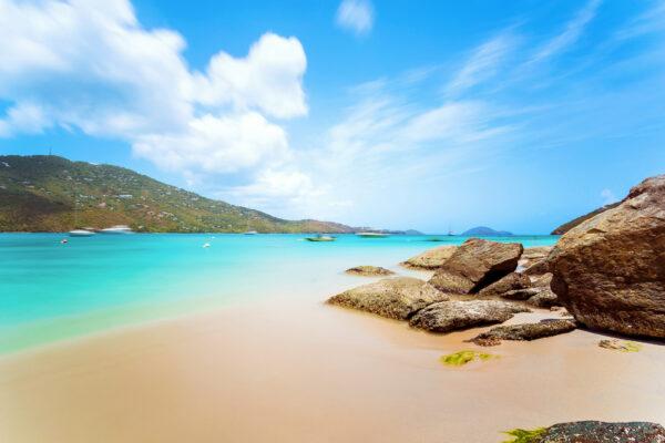 Jungferninseln Saint Thomas Strand Meer