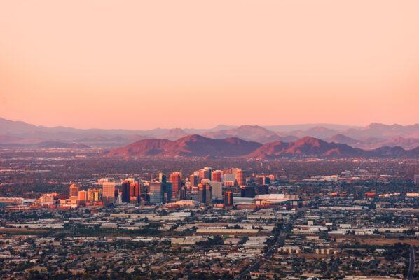 USA Arizona Phoenix Sonnenaufgang