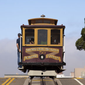 USA Kalifornien San Francisco Bahn