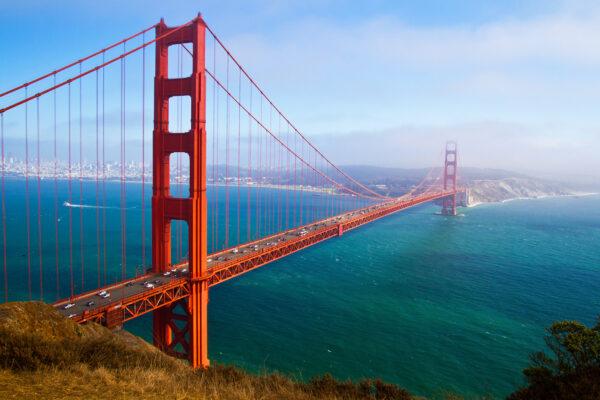 USA Kalifornien San Fransisco Brücke