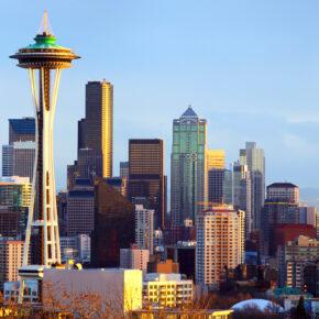 USA Washington Seattle Skyline