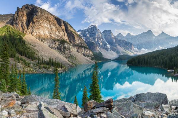 USA Wyoming Rocky Mountains