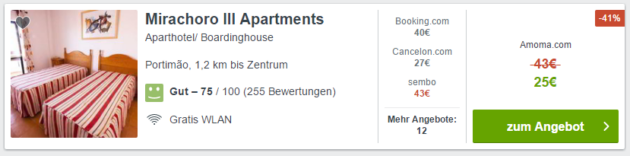 Mirachoro Apartments