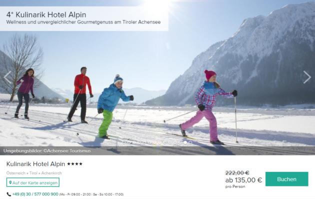 Tirol Wellness Deal