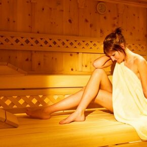 Anthony's Alpin Hotel Sauna