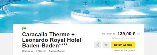 Baden-Baden Hotel Therme