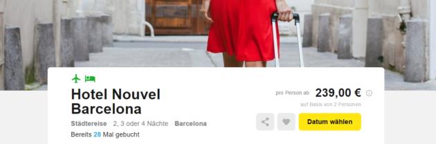 Barcelona Schnäppchen