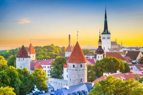 Estland Tallinn Burg