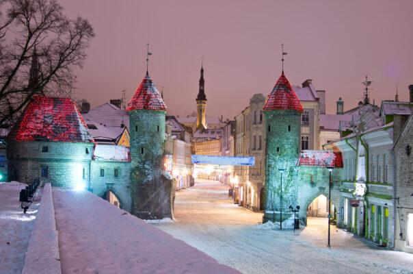 Estland Tallinn Winter