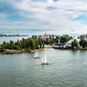 Finnland Helsinki Insel