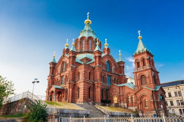 Finnland Helsinki Kirche