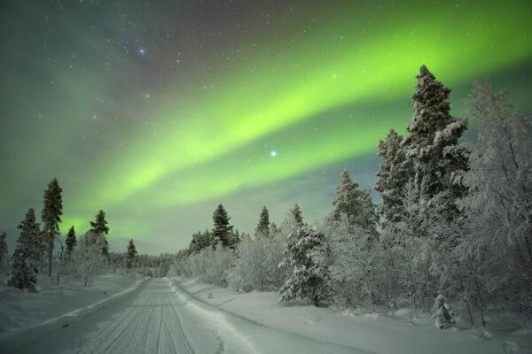 Finnland Polarlichter