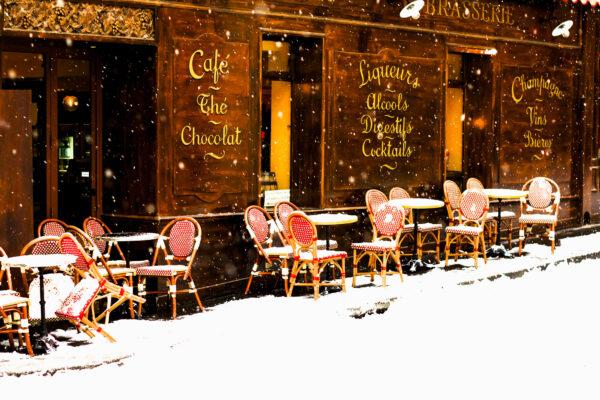 Frankfreich Paris Cafe