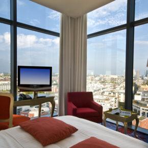 Frankfurt Radisson Blu Hotel Aussicht