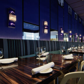 Frankfurt Radisson Blu Hotel Restaurant