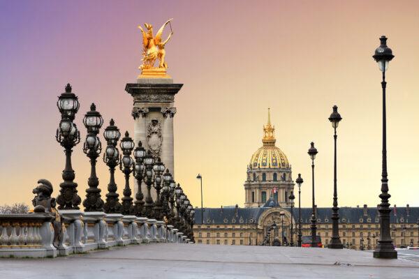 Frankreich Paris Brücke