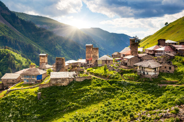 Georgien Adishi Dorf